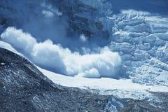 avalanche Foto de Stock Royalty Free