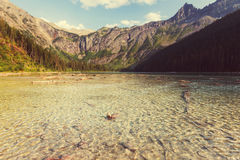 Avalanche lake Royalty Free Stock Images