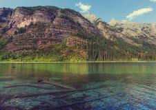 Avalanche lake Royalty Free Stock Photos