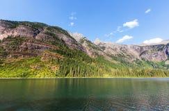 Avalanche lake Royalty Free Stock Photo