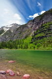 Avalanche Lake. Glacier National Park Royalty Free Stock Image