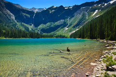 Avalanche Lake, Glacier National Park Royalty Free Stock Photography