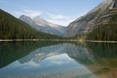 Avalanche Lake Landscape Royalty Free Stock Photo