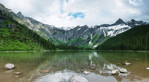 Avalanche Lake Stock Photos