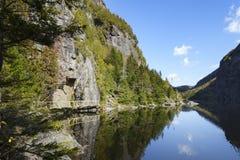 Avalanche See in den Adirondack-Bergen von New York Lizenzfreies Stockbild
