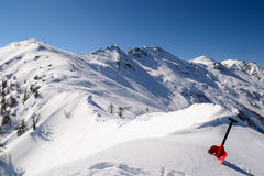 Avalanche shovel Stock Photo