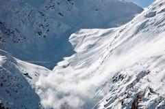 Avalanche, Tirol, Austria Stock Photography