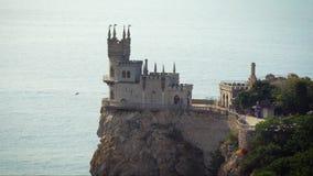 Avalez le symbole de château de nid du ` s de la Crimée clips vidéos