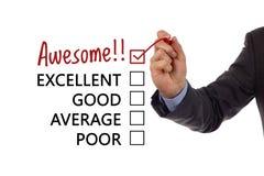 Avaliação da satisfação do serviço ao cliente