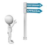 Avaliação de desempenho ilustração stock