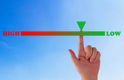 Avaliação de risco, conceito da gestão Fotografia de Stock Royalty Free
