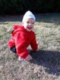 Avaliação do outono da alegria e da felicidade fotografia de stock