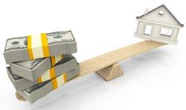 Avaliação de bens imobiliários Fotografia de Stock