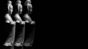 Avalokitasvara Bodhisattva, Guan Yin/Guanshiyin rzeźba/ Zdjęcie Royalty Free