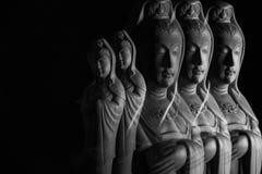 Avalokitasvara Bodhisattva/Guan Yin/Guanshiyin sculpture Royalty Free Stock Photos