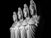 Avalokitasvara Bodhisattva/Guan Yin/Guanshiyin sculpture Stock Photo