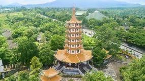 Avalokitesvara塔古庙  图库摄影