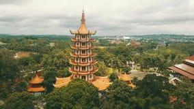 Avalokitesvara塔空中英尺长度  股票录像