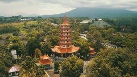 Avalokitesvara塔鸟景色在三宝垄 影视素材