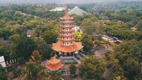 Avalokitesvara塔鸟瞰图  股票录像