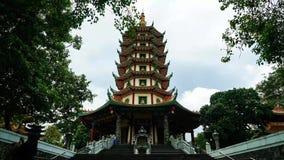 Avalokitesvara塔Timelapse在三宝垄 股票视频