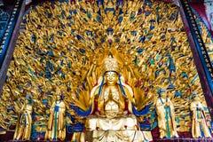 Avalokitesvara用一千只手 库存图片