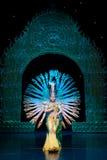 Avalokitesvara舞蹈(3) 免版税库存图片