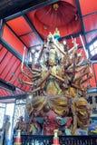 Avalokitesvara στο ναό arhat Στοκ Εικόνες
