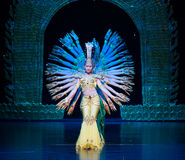 Танец Avalokitesvara Стоковая Фотография