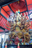 Avalokitesvara in arhat temple. Stock Images