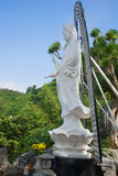 Avalokitesvara bodhisattva (goddess of mercy) in the pagoda in the Marble mountains. Da Nang, Vietnam Stock Photos