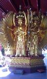 Avalokitesvara Bodhisattva (Tusen-Hand-Tusen-ögat) Royaltyfria Foton
