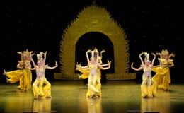 Avalokitesvara Dance Royalty Free Stock Image