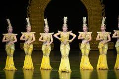 Avalokitesvara Dance Royalty Free Stock Photos