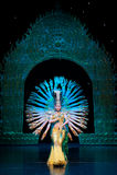 Avalokitesvara Dance(3) Royalty Free Stock Images