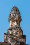 Avalokitesvara pillar. Royalty Free Stock Photos