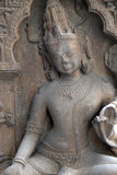 Avalokitesvara. From 10th century found in Khondalite Kendrapara, Odisha now exposed in the Indian Museum in Kolkata, West Bengal, India Stock Photography