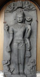 Avalokitesvara. From 9th century found in Surajkund, Nalanda, Bihar now exposed in the Indian Museum in Kolkata, on Nov 24, 2012 Royalty Free Stock Images