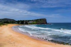 Avalon海滩 免版税库存图片