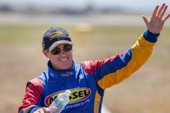 Red Bull Air Race Pilot Matt Hall. royalty free stock photo