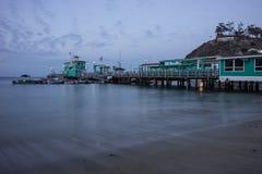 Avalon Bay Pier, Santa Catalina Island Royalty Free Stock Photo