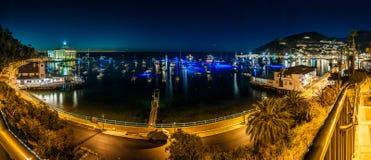 Avalon Bay-Promenade von Kasino zu Pier Lizenzfreies Stockbild