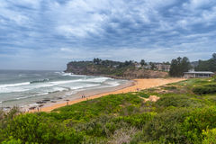 Avalon Beach. Is one of Sydney's Northern Beaches Stock Photo