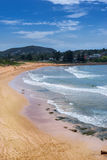 Avalon Beach. Is one of Sydney's Northern Beaches Stock Photography