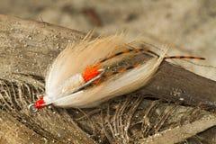 Avalon Bonefish-Erlaubnis-Fliege - Fliegen-Fischen lizenzfreies stockfoto