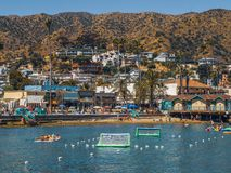 Avalon, Catalina Island, Καλιφόρνια στοκ φωτογραφία με δικαίωμα ελεύθερης χρήσης