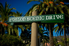 Avalon Drive Sign Royalty Free Stock Photography