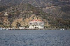 Avalon Harbor on Catalina Island Stock Image