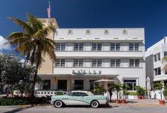 Avalon Hotel Miami Beach Florida Lizenzfreie Stockfotos
