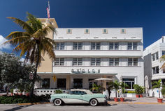 Avalon Hotel Miami Beach Florida Royalty Free Stock Photos
